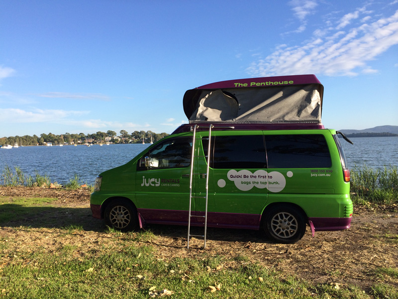 Jucy Camper in Gold Coast