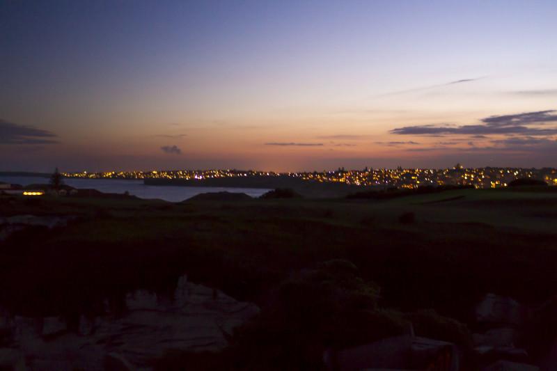 Bondi Beach Night View