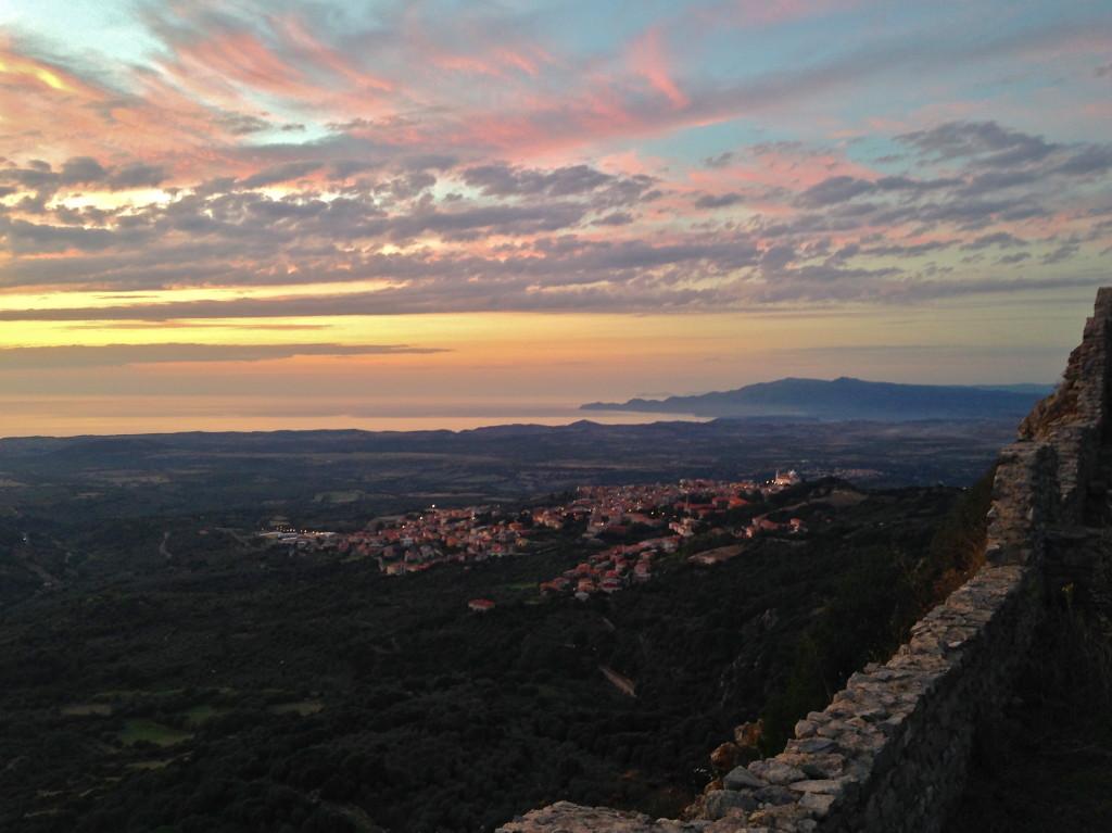 Vista panoramica della costa Ovest della Sardegna