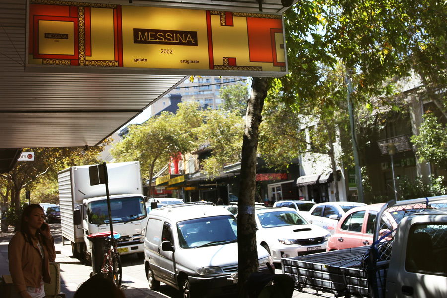 Victoria Street a Durlinghurst, la prima gelateria aperta da Nick a Sydney
