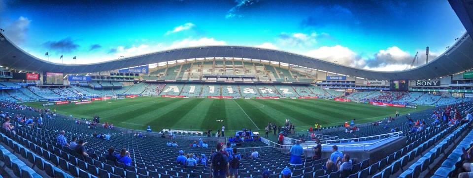 Panoramica dell'Allianz Arena, in Sydney