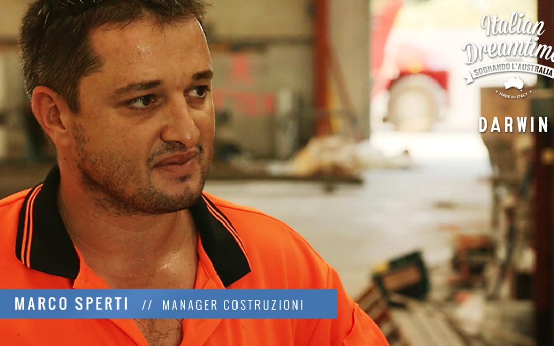 Marco Sperti | Manager costruzioni