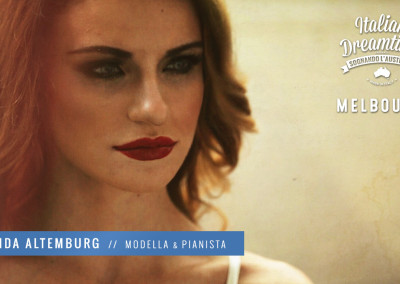 Alida Altemburg | Modella e Pianista