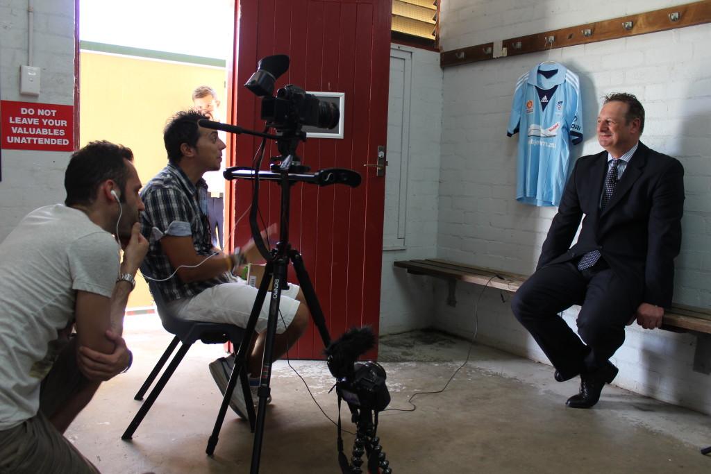 Tony Pignata, direttore generale del Sydney FC, ci racconta la sua storia.